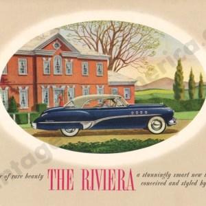 1949 Buick Riviera Brochure