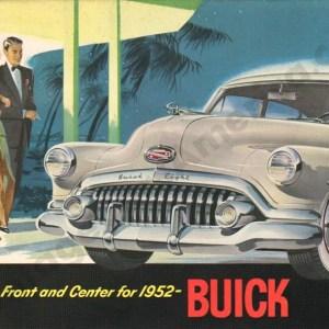 1952 Buick Brochure