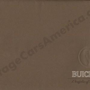1960 Buick Foldout