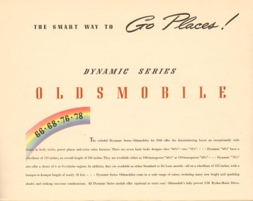 1948 Oldsmobile Rocket 88