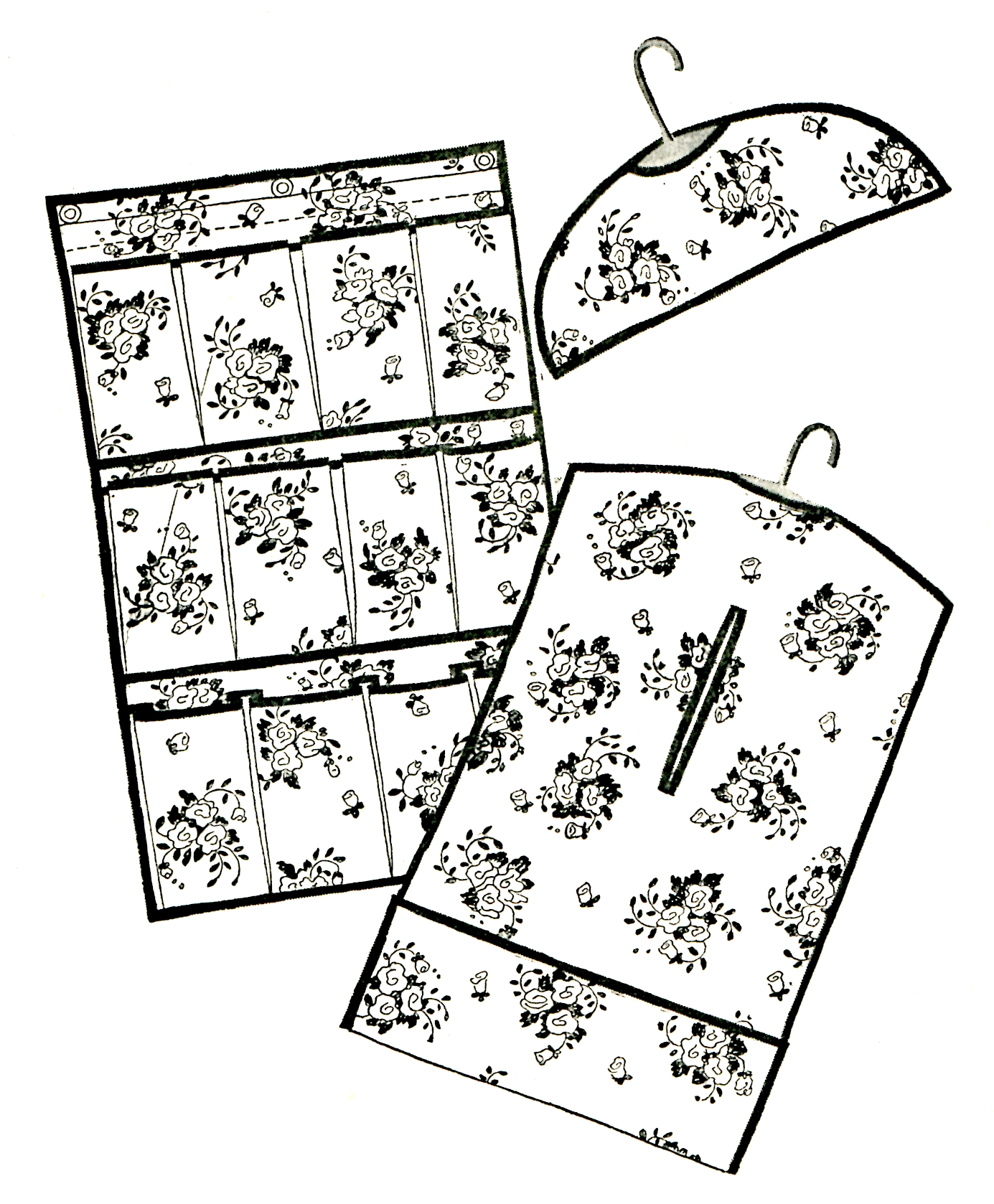 Sewing Instructions For Closet Organizer Accessories