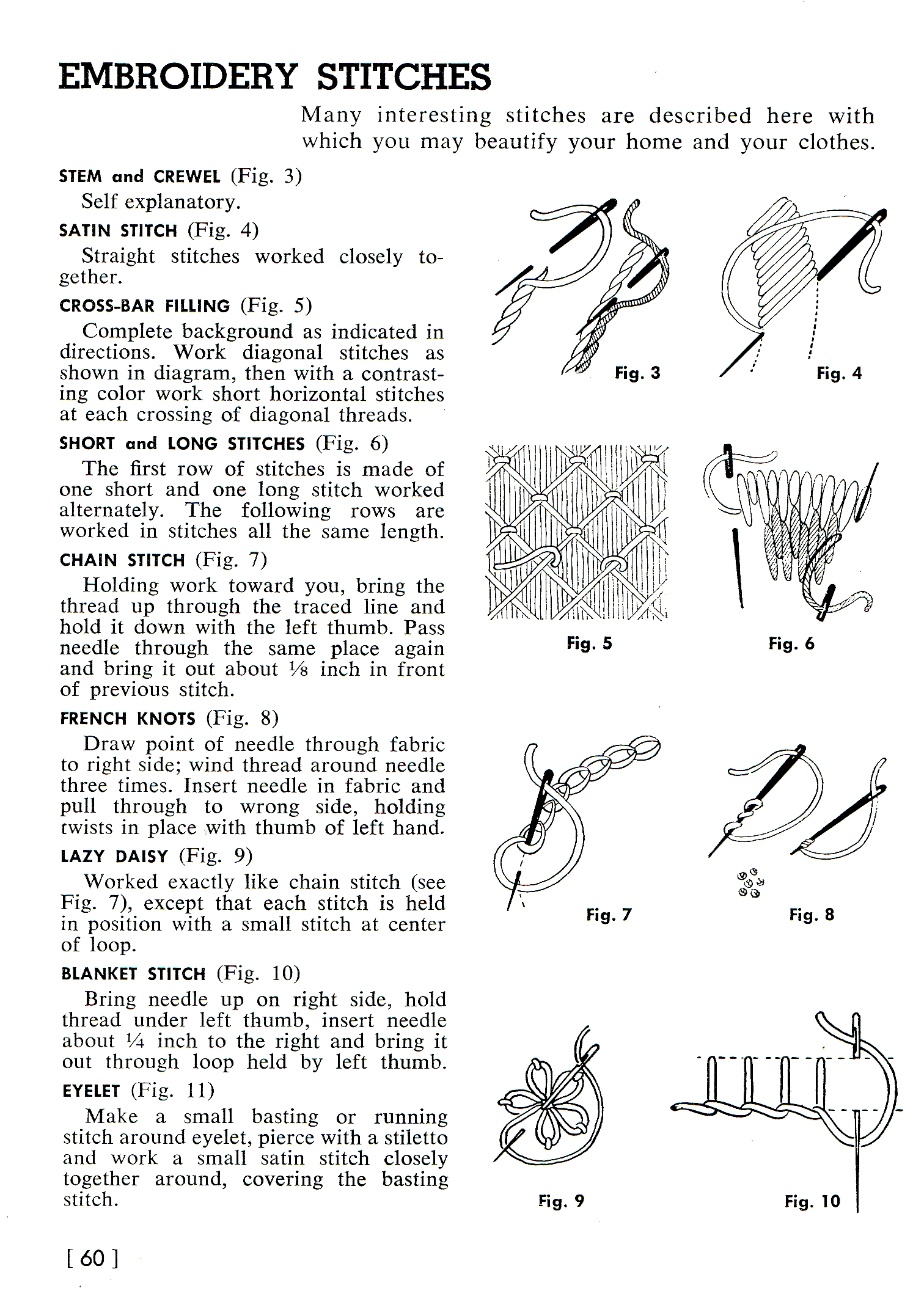 Vintage Embroidery Pattern Archives