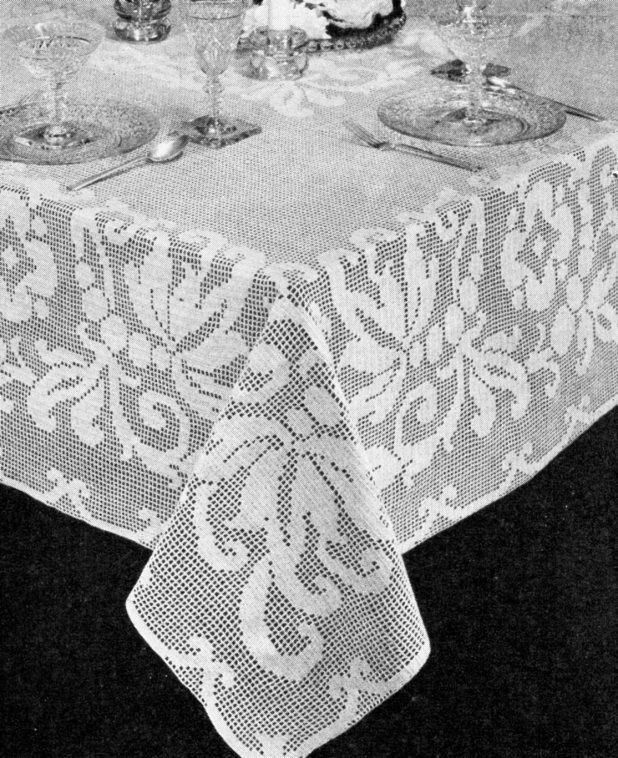 Filet crochet tablecloth patterns for Thread pool design pattern