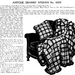 Granny Square Afghan Crochet Pattern Vintage Crafts And More