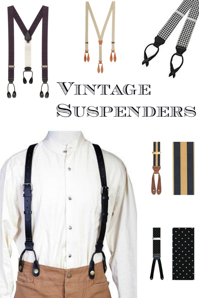 Vintage Tuxedo Patterns