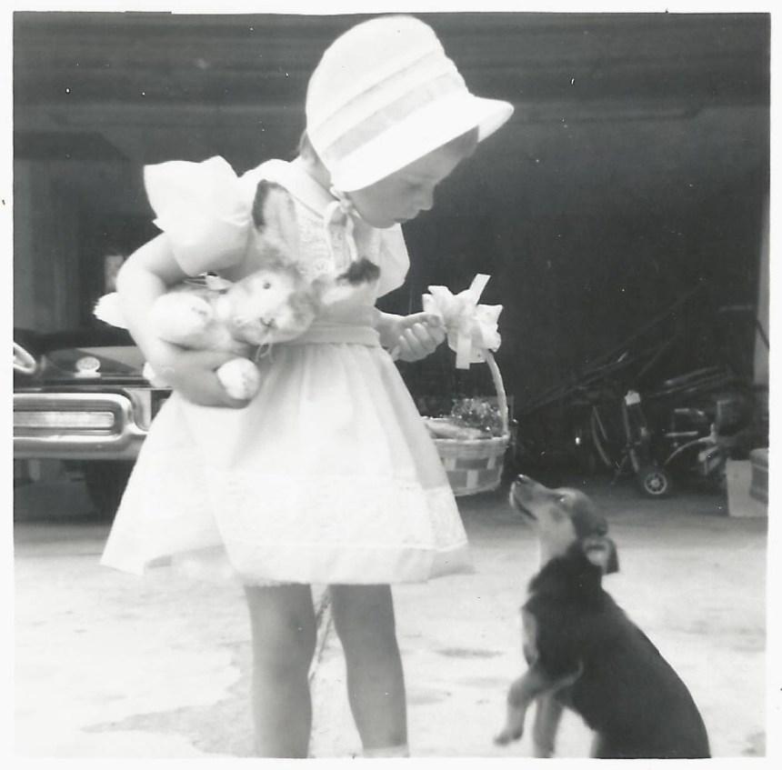 Easter 1960 vintage farm wife