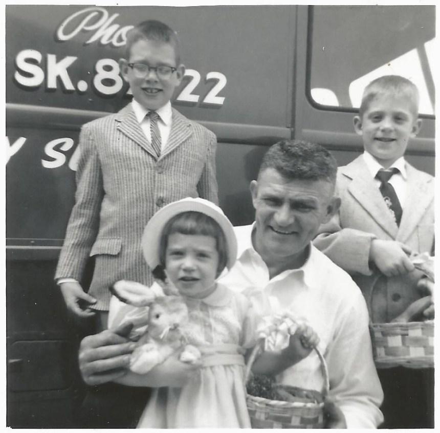 Easter 1960 Jeanne McDonald