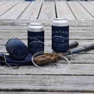 Fish Tales Drink Koozie