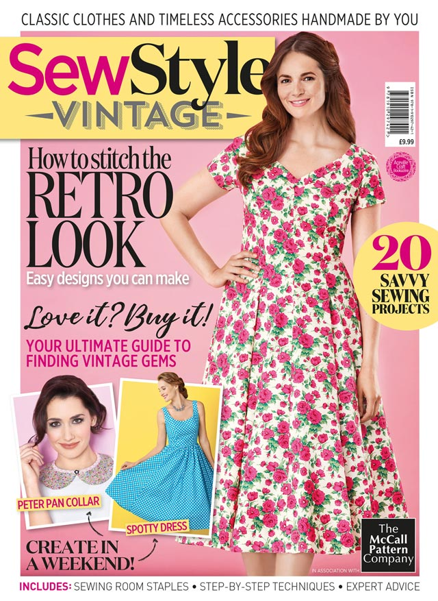 I'm Featured in Sew Style Vintage Magazine! - Vintage Gal