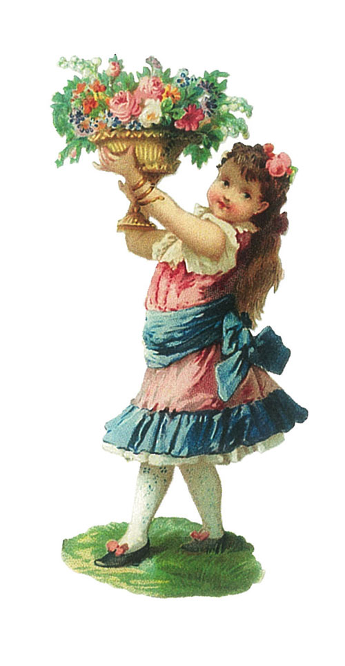 vgosn-vintage-clipart-of-a-girl-holding-flowers-thumb