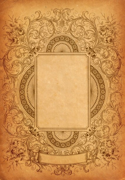 Ornate Decorative Border Clip Art | Oh So Nifty Vintage Graphics