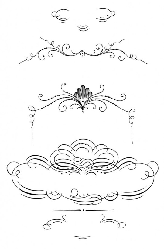 calligraphy, clip art, ornaments, decorative, border, borders, clipart