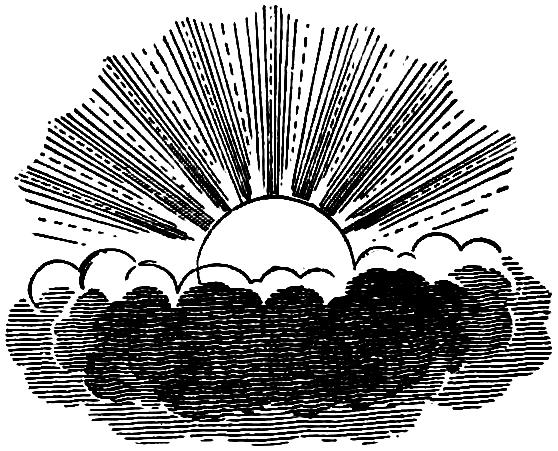 vgosn_free_vintage_clip_art_sun_clouds_celestial