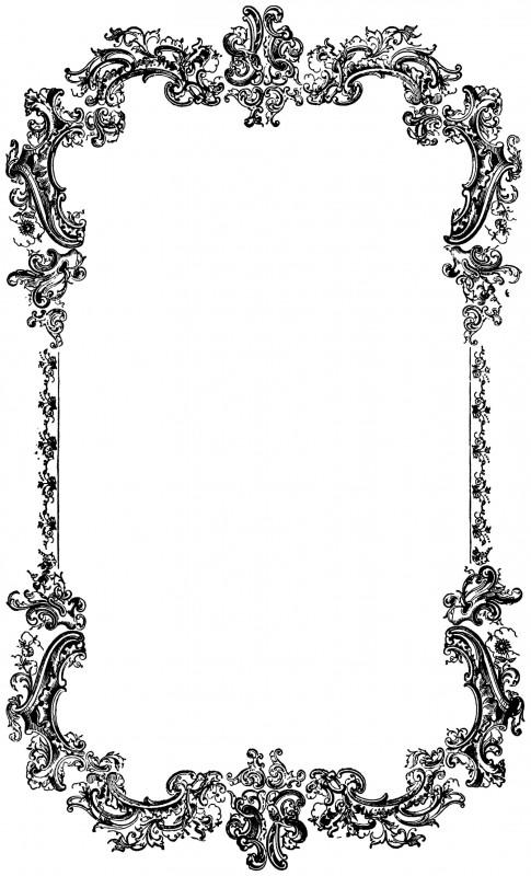 vgosn_vintage_ornate_frame_border_clip_art_image