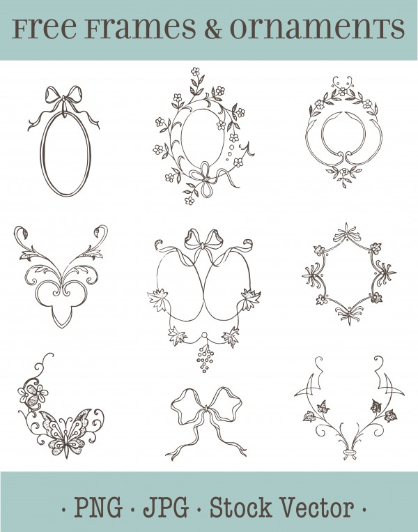 vgosn_vector_art_wedding_frames_image