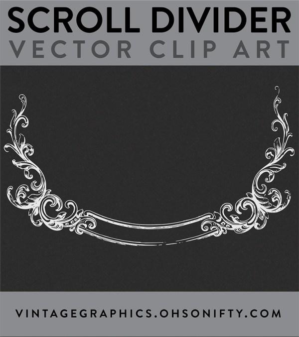 scroll, divider, vintage, royalty free images, free stock images, stock images, free vector art, free clipart images, vector graphics, free vector graphics, vector image, stock image