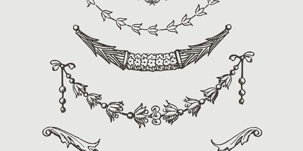 vector images, vintage garland vector, vector royalty free, images vector, vector illustration stock, royalty free vector images, clip art, vintage garland clip art
