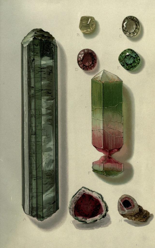 Royalty Free Image – Vintage Crystal Illustration