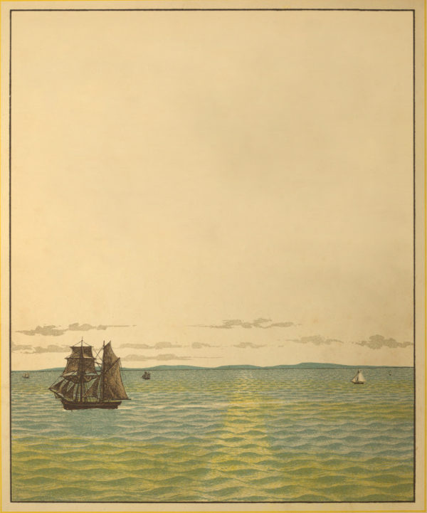 Royalty Free Sailboat Illustration for Journaling