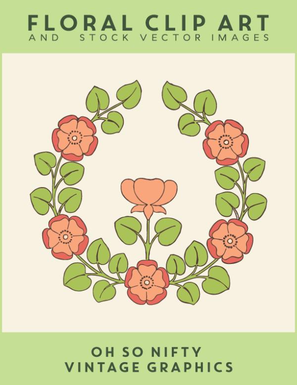 Free Stock Images - Floral Rose Emblem