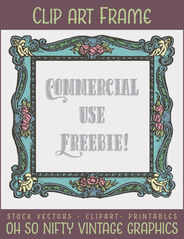 Graphic Stock Images - Vintage Frame Clip Art