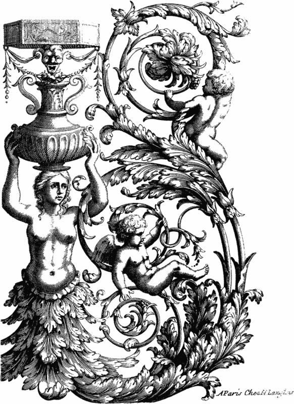 Stock Illustration - Ornate Parisian Ornament Clip Art