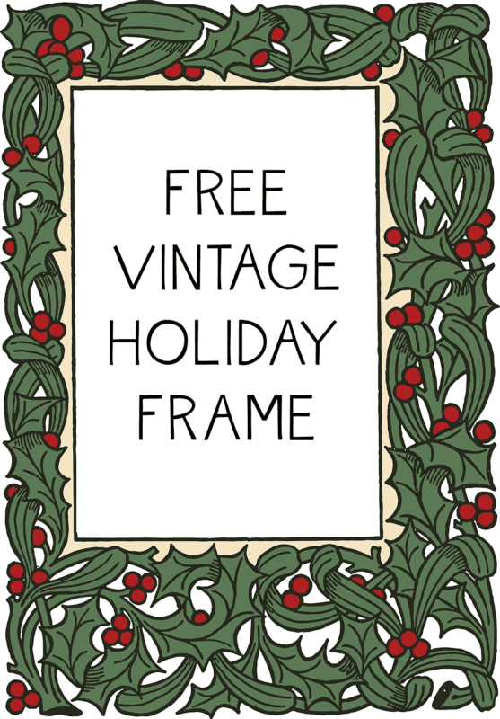 Lucrative image in free christmas clipart borders printable