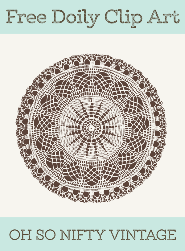 Stock Vector Images | Vintage Doily