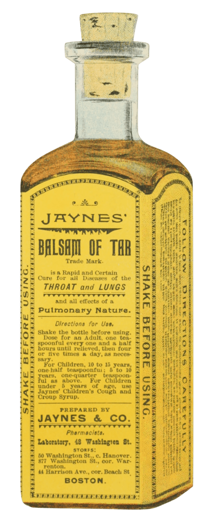 Vintage Royalty Free Images | Apothecary | Jaynes' Balsam of Tar