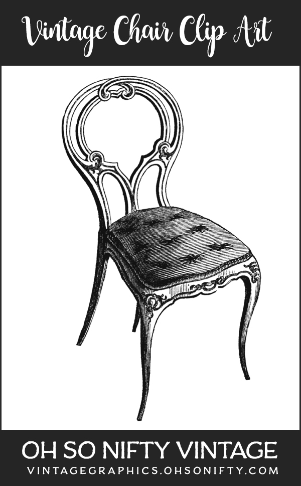 Vintage Chair Clip Art