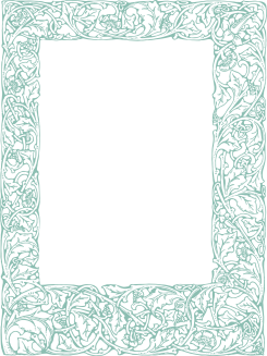 Robin Egg Blue Royalty Free Images | Ornate Vintage Border