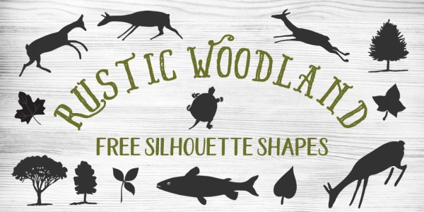 Free Folksy Rustic Woodland Vector & Clip Art