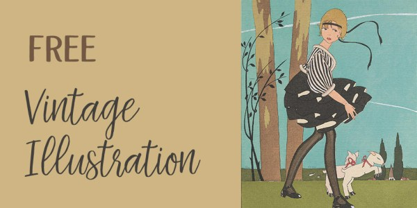 Free Vintage Magazine Illustration