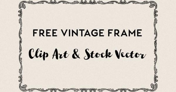 Royalty Free Vintage Vector Frame 2