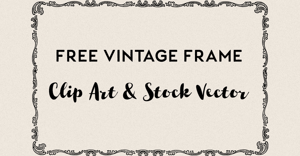 Royalty Free Vintage Vector Frame 2