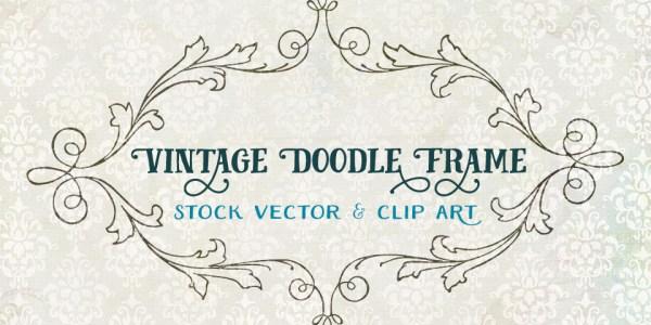 Vintage Doodle Frame - Stock Vector & PNG Clip Art