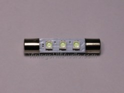 LED Fuse lamp - 8V Cool Blue x1