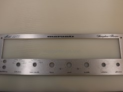 Marantz 2275 faceplate. Lot 2