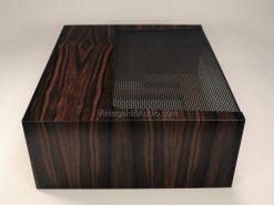 Marantz WC-22 Ebony wood case side
