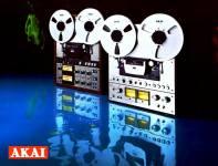 AKAI GX-400D PRO, GX-650D