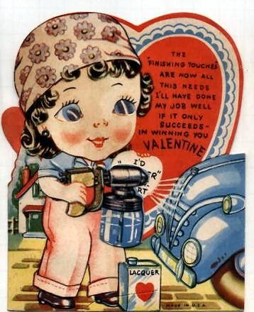 Free Vintage Kids Valentine Cards Vintage Holiday Crafts