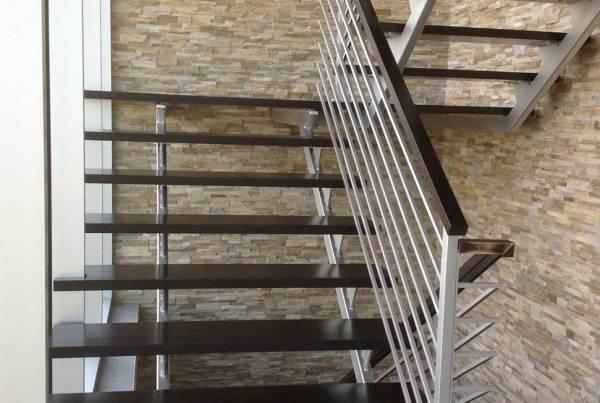 indoor modern stairway