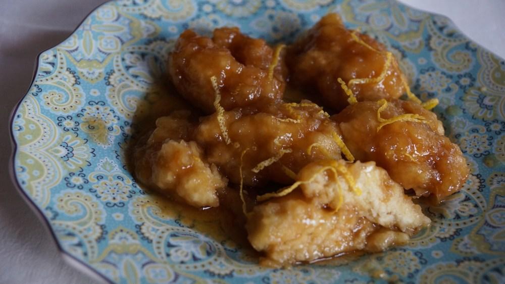 Maple dumplings