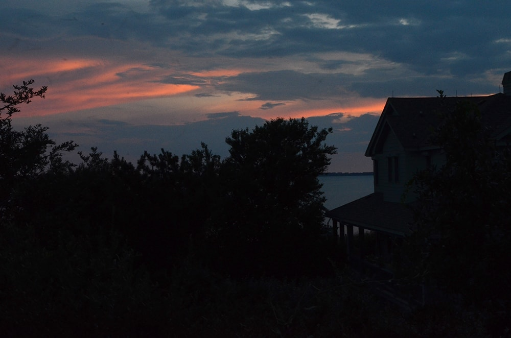 OBX Vacation House Sunset Web