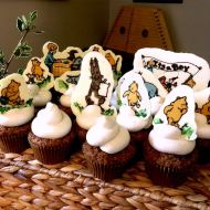 Winnie the Pooh Baby Shower Dessert Buffet