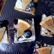 Blueberry Grapefruit Bars