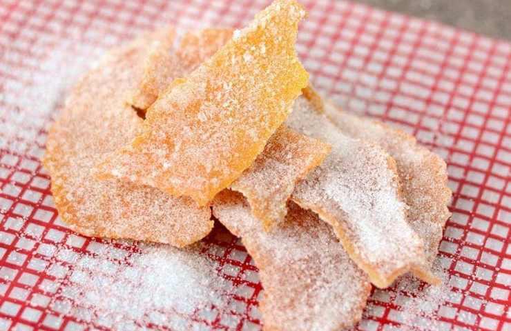 Candied Orange Peel Recipe