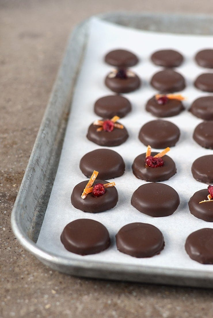 """Orange Cranberry Patties make excellent Christmas gifts! Nothing says """"I love you"""" like homemade candy!"""
