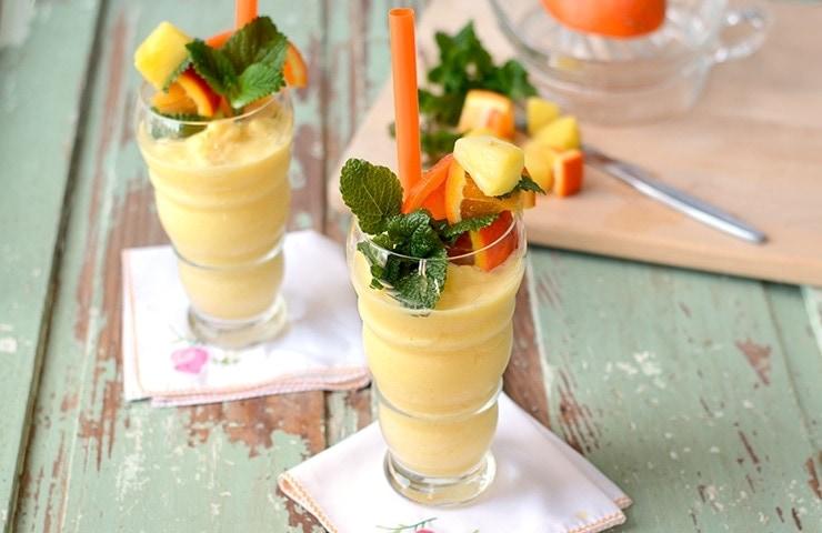 Pineapple Orange Creamsicle Smoothie