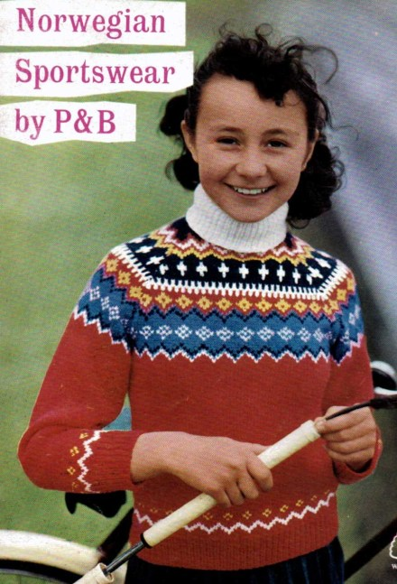 Bright Sweater for a ten year old